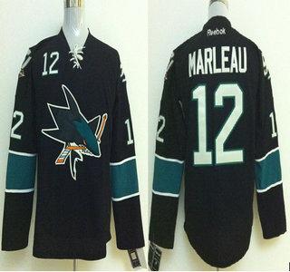 on sale 271fe ea252 San Jose Sharks #12 Patrick Marleau 2014 Stadium Series ...