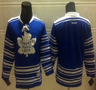 the best attitude bd972 2bd1a Toronto Maple Leafs Blank 2014 Winter Classic Blue Kids Jersey