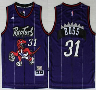 2fd96eb76 Demar DeRozan Toronto Raptors 31 Toronto Raptors 31 Terrence Ross Purple  Swingman Throwback Jersey ...