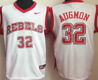 online store 4d600 72bbd Unlv Rebels #50 Greg Anthony Red College Basketball Jersey