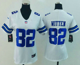 fb207de2 ... Womens Dallas Cowboys 82 Jason Witten White 2017 Vapor Untouchable  Stitched NFL Nike Limited Jersey Mens ...
