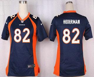 ... Womens Denver Broncos 82 Jeff Heuerman Navy Blue Alternate Stitched NFL  Nike Game Jersey Mens Elite ... 30ea8ee76