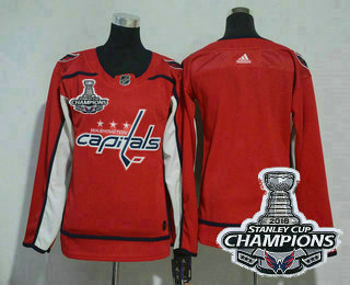 photo relating to Washington Capitals Printable Schedule titled Womens Washington Capitals Blank Crimson 2018 Stanley Cup
