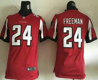 wholesale dealer edeb7 fddf1 youth atlanta falcons 24 devonta freeman black alternate nfl ...