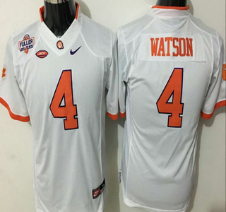 2dc3a1817 ... ireland youth clemson tigers 4 deshaun watson white 2015 college football  nike limited jersey with steve