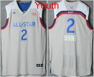 purchase cheap 60a5f 0464c Youth Eastern Conference Cleveland Cavaliers #2 Kyrie Irving ...