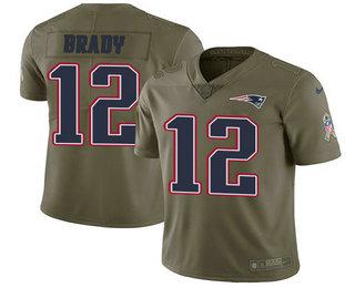 Cheap Youth New England Patriots #12 Tom Brady Navy Blue 2018 Super Bowl  for cheap