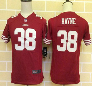 meet 2618a dc724 Youth San Francisco 49ers #38 Jarryd Hayne Scarlet Red Team ...
