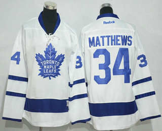 best cheap e734a 0fd71 Youth Toronto Maple Leafs #34 Auston Matthews White Away ...